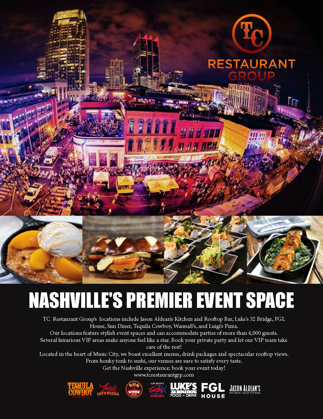 Nashville's Premier Event Space